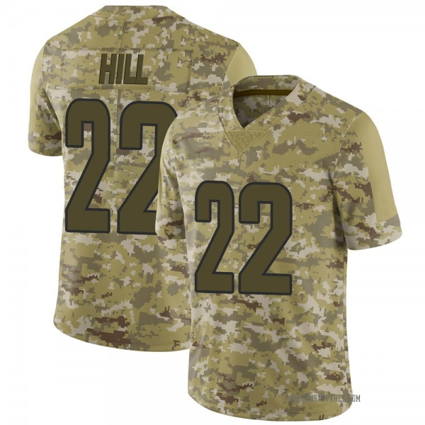 Men's Troy Hill Los Angeles Rams Limited Camo 2018 Salute to Service Jersey
